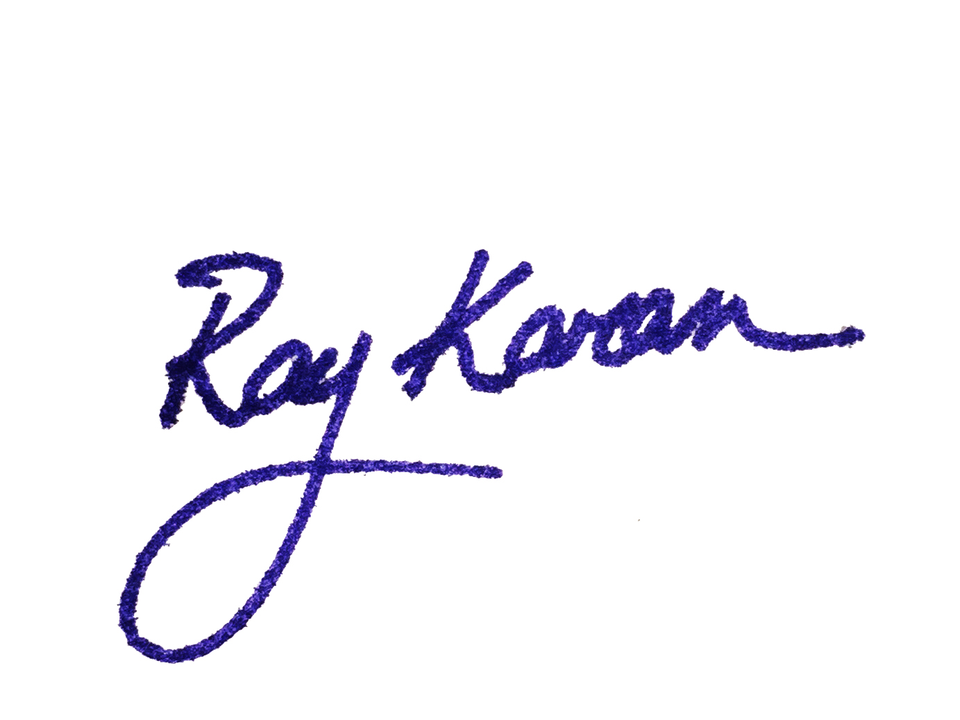 Ray Karam Signature