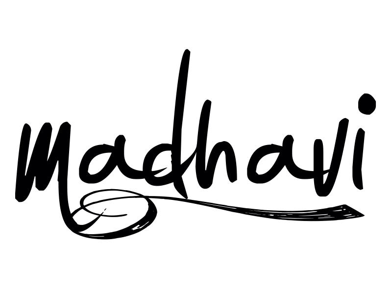 Madhavi Prabhu Signature