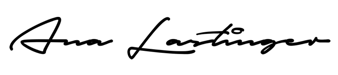 Ana Lastinger Signature