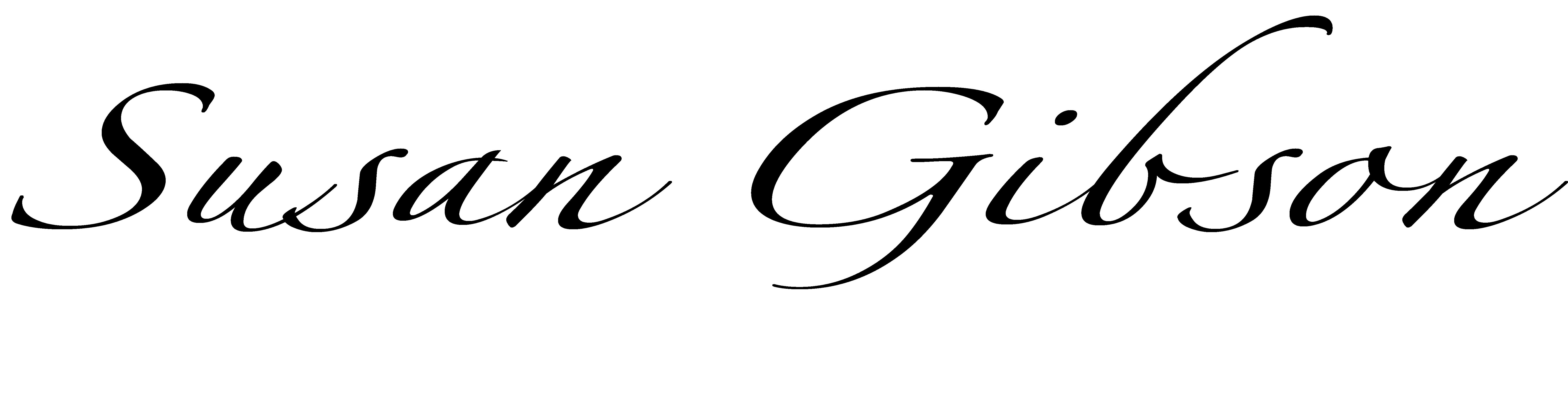 susan gibson Signature