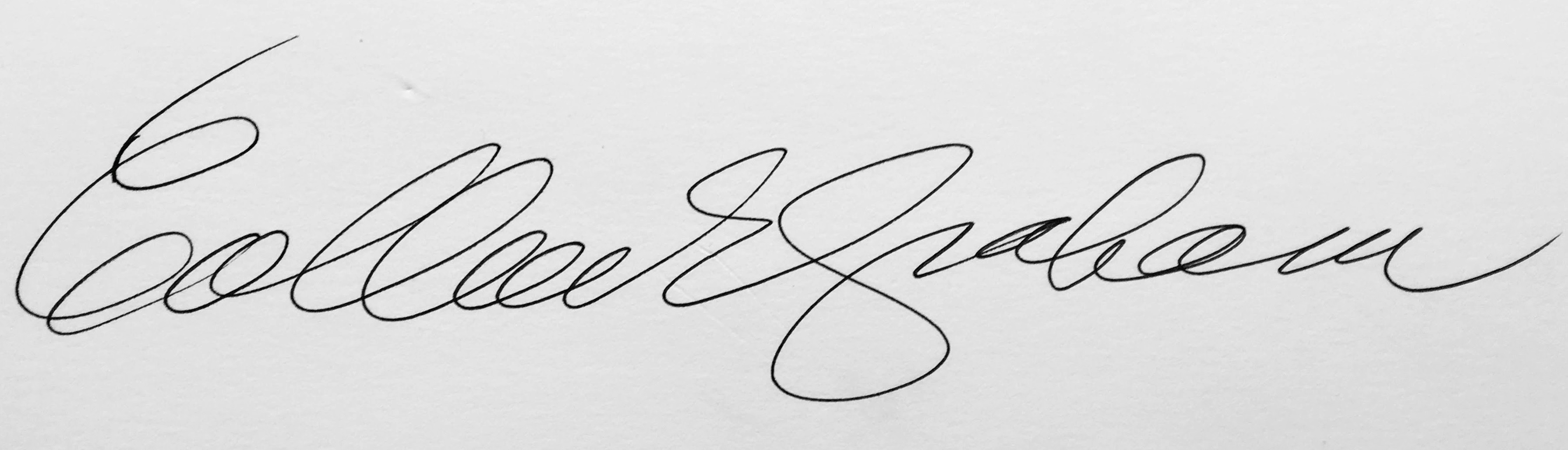 Colleen Graham Signature