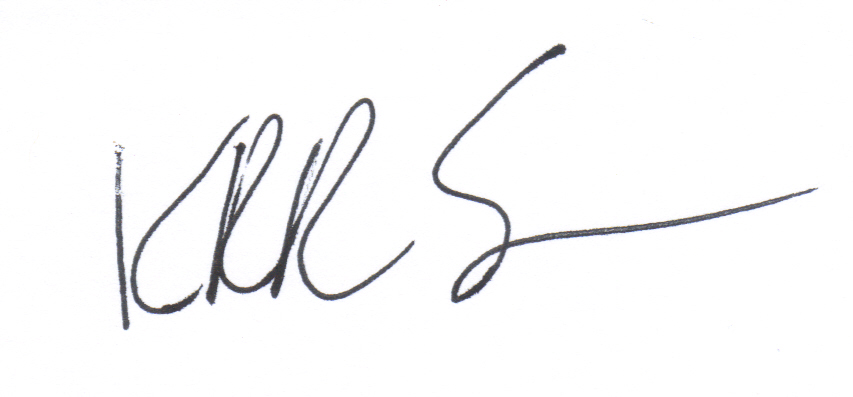 Kenneth Renicker Sr. Signature