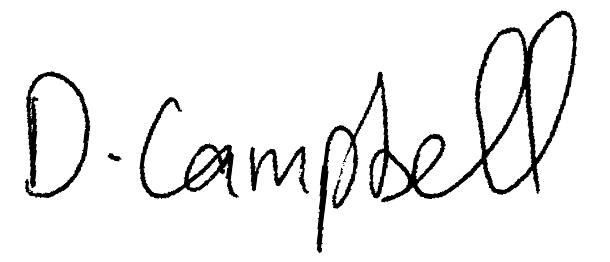 Damian Campbell Signature