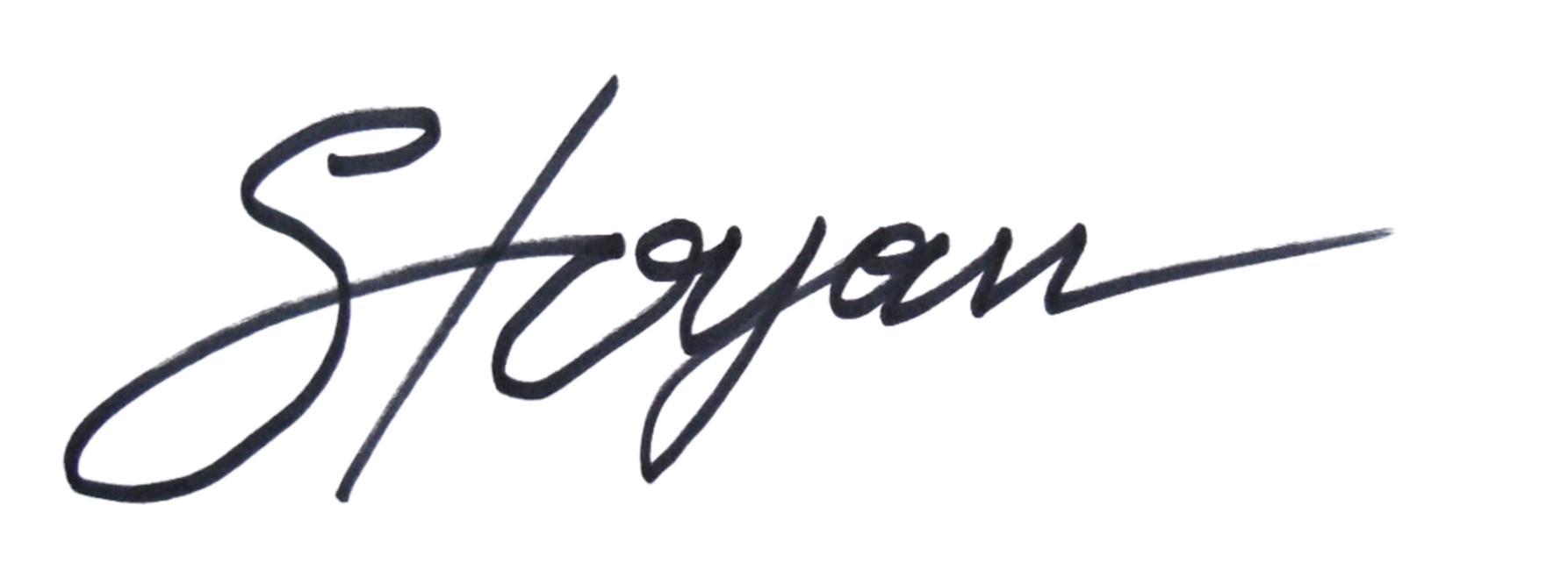stoyan lechtevski Signature