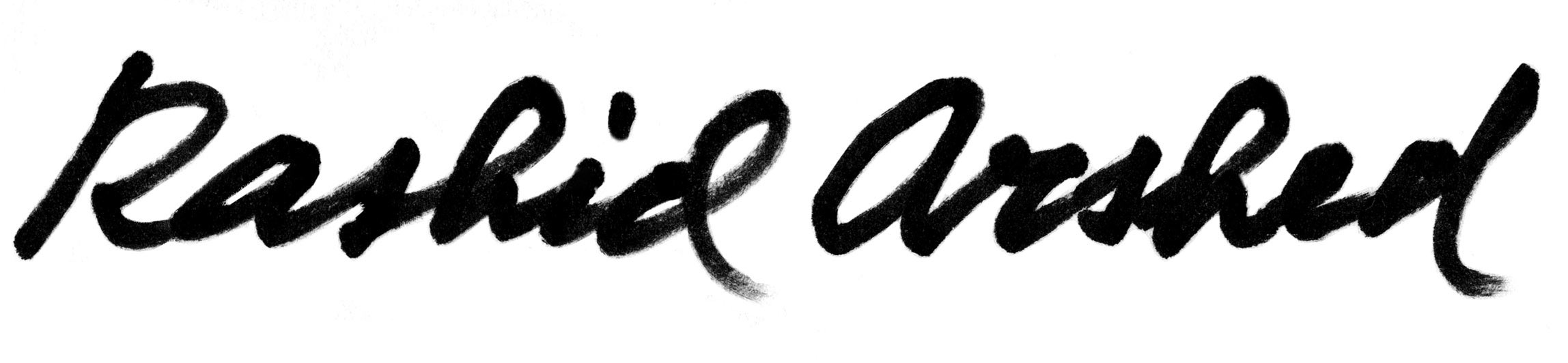 Rashid Arshed Signature