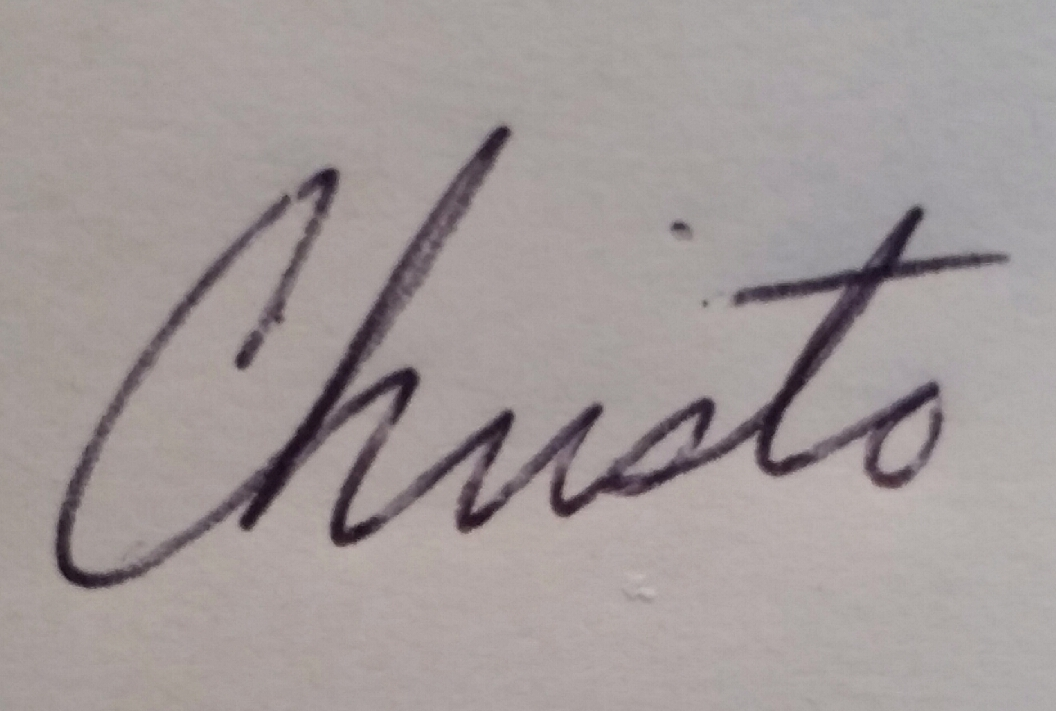 Christo Linquata Signature