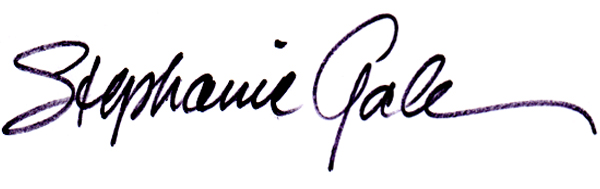 stephanie gale Signature