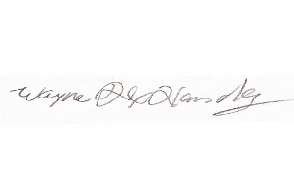Wayne Handley Signature