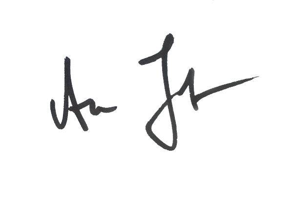 Aleksandra Jelovic Signature
