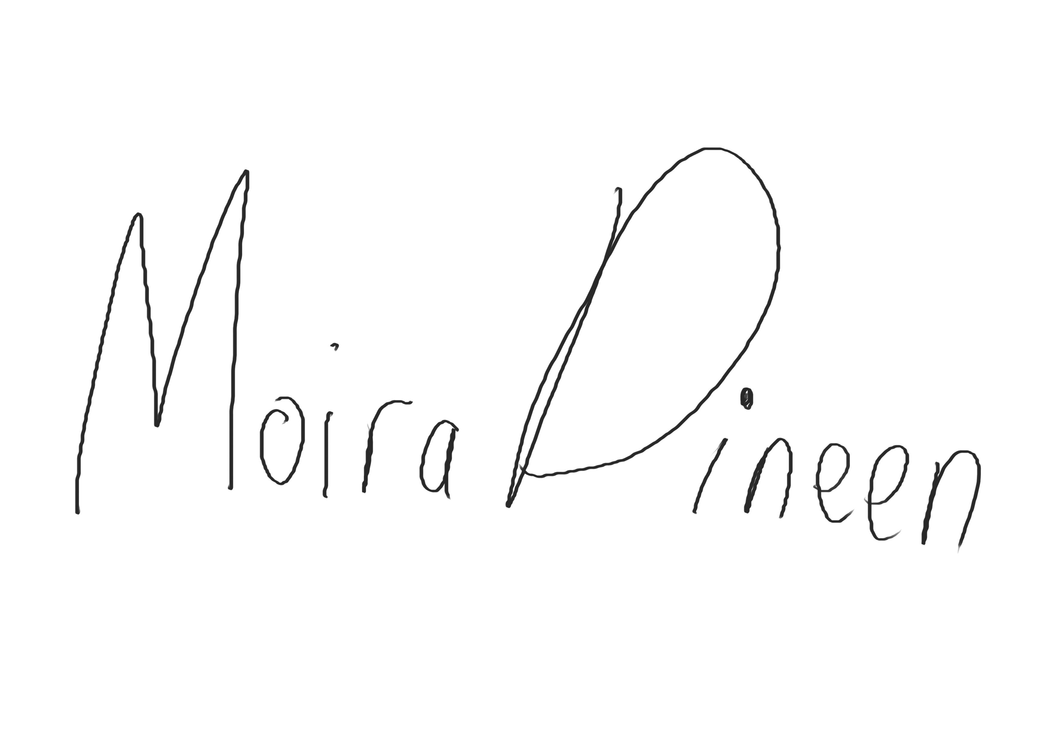 Moira Dineen Signature