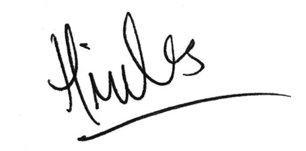 Hannah Miles Signature