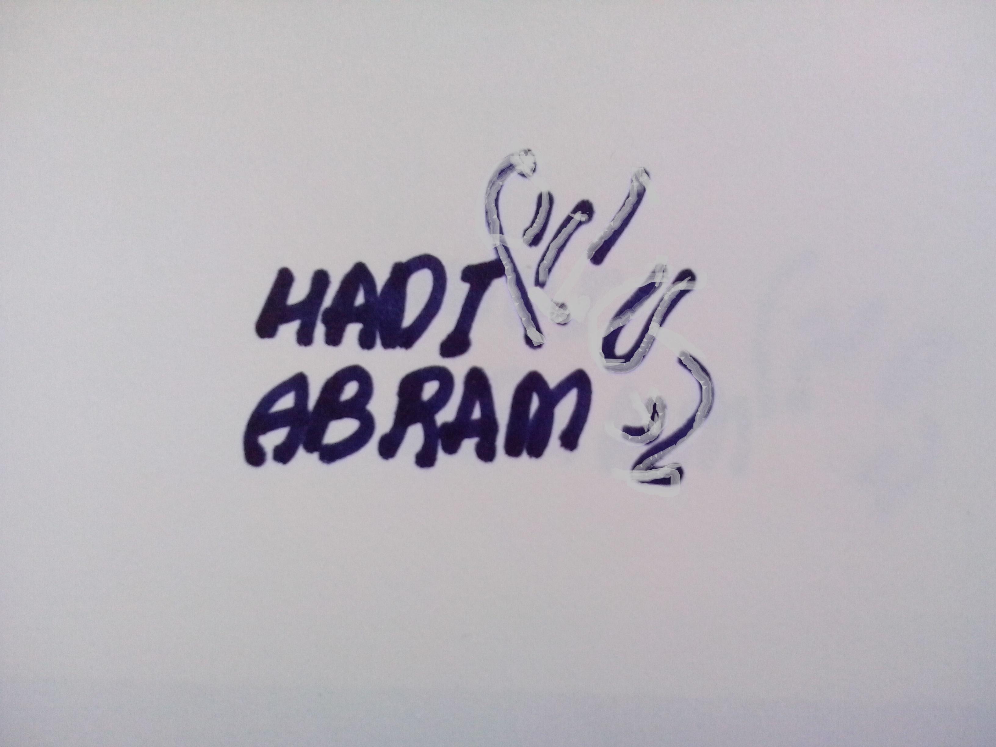 hadi abram Signature