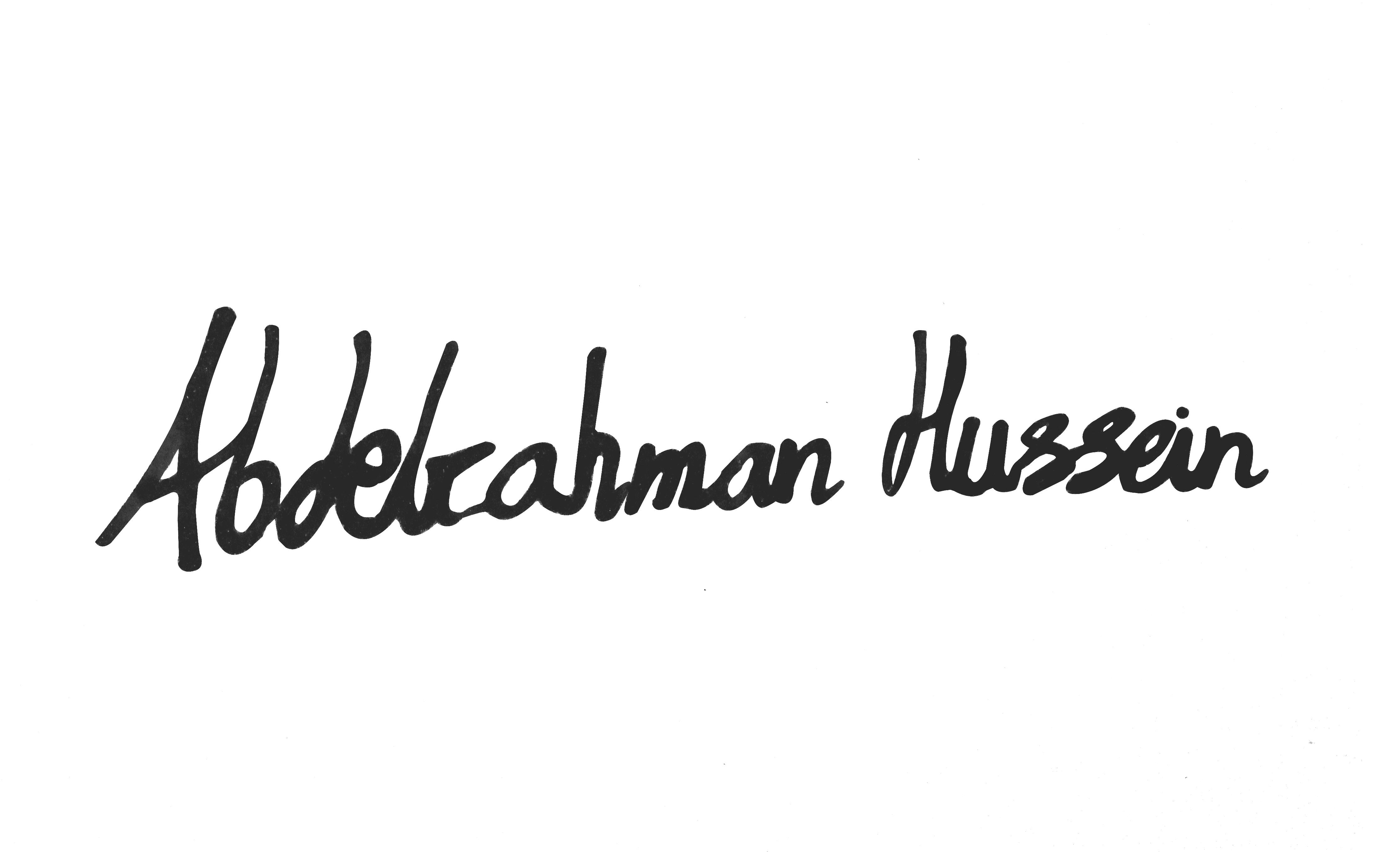 Abdelrahman Abdelazeem Signature