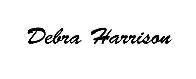 Debra Harrison Signature