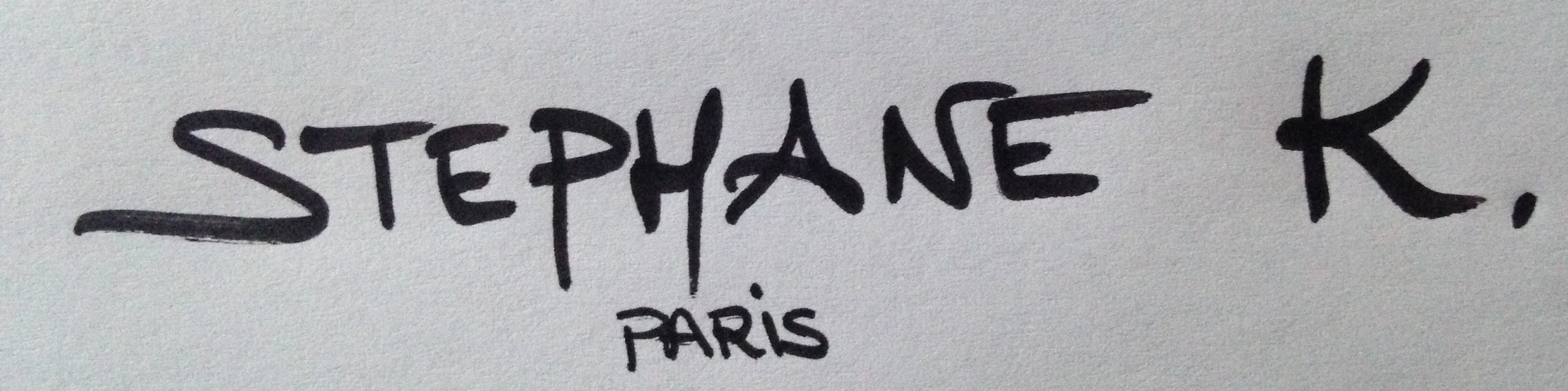 Stephane K. Signature