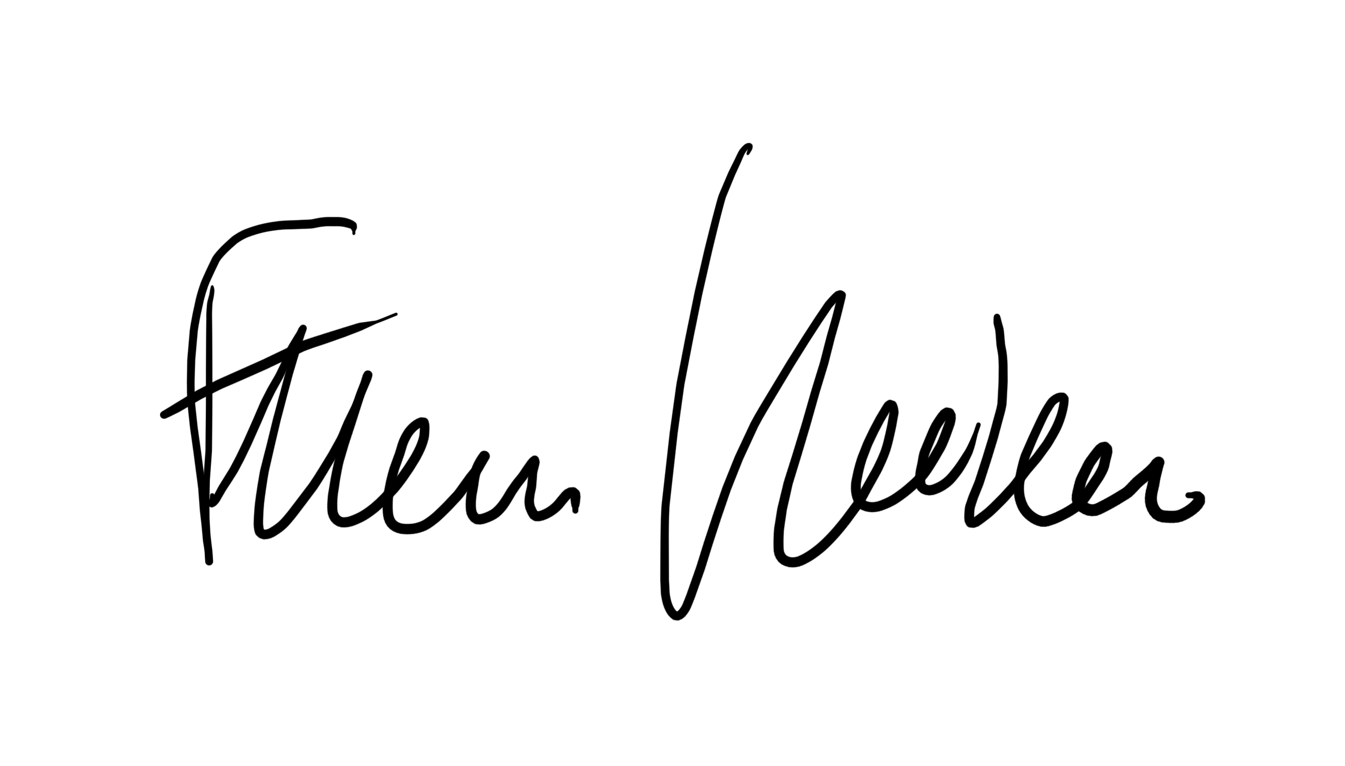 Francesco Venier Signature
