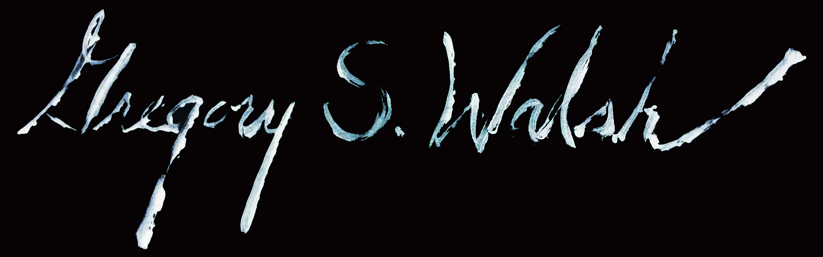 GregORY S. Walsh Signature