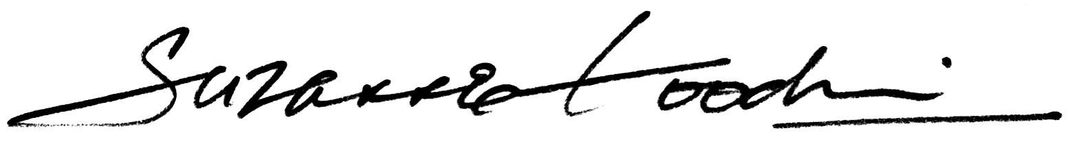 Suzanne Goodwin Signature