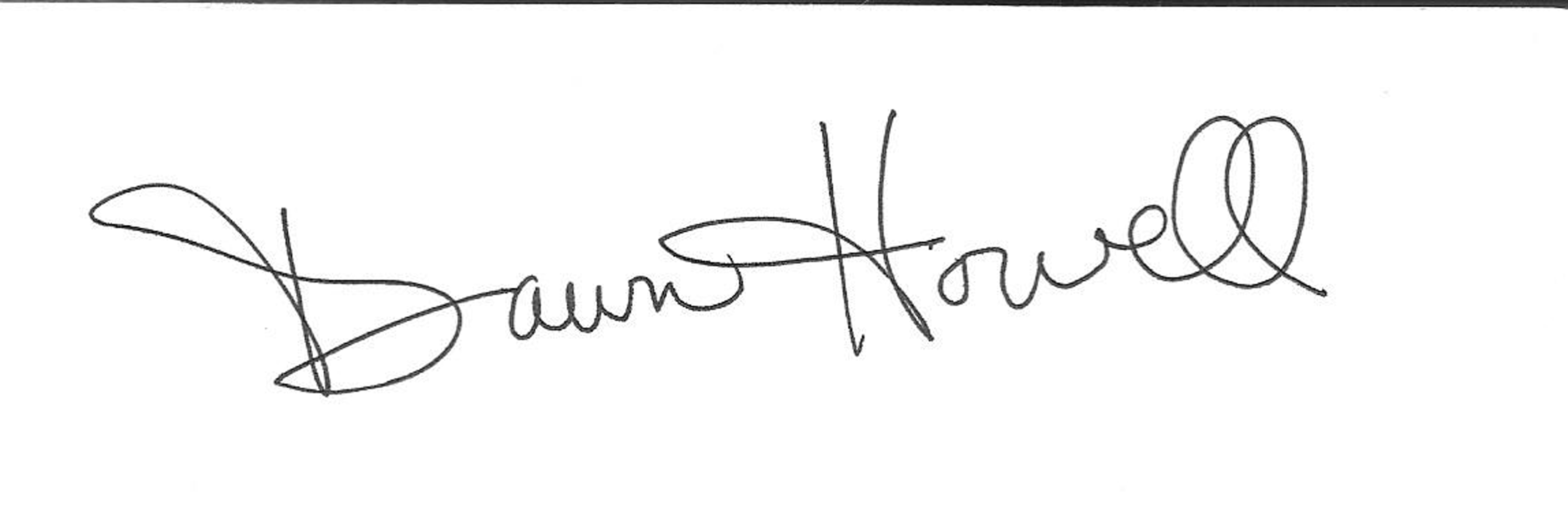 Dawn Howell Signature
