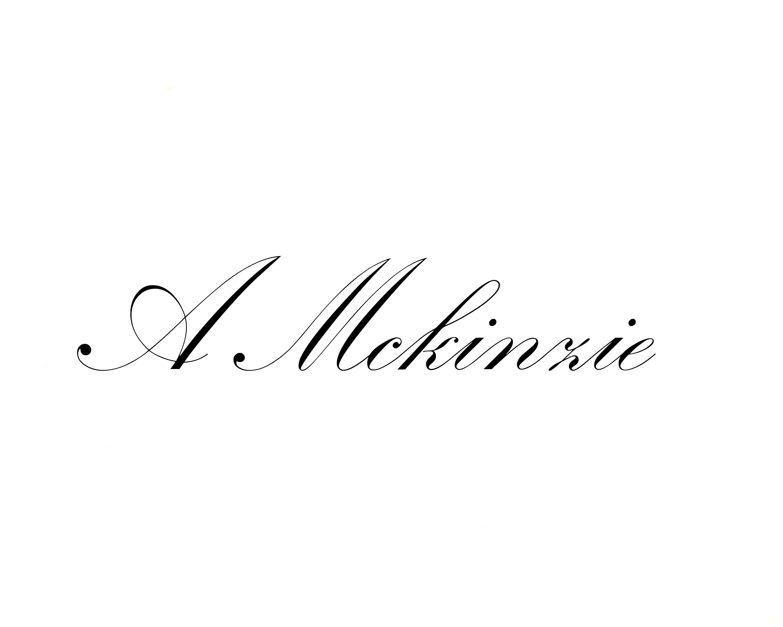 Athena Mckinzie Signature