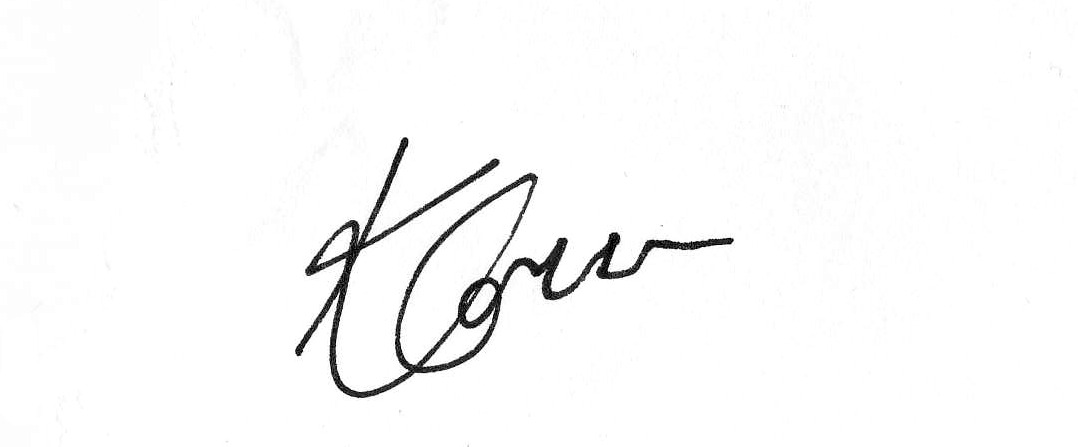 kelly connor Signature