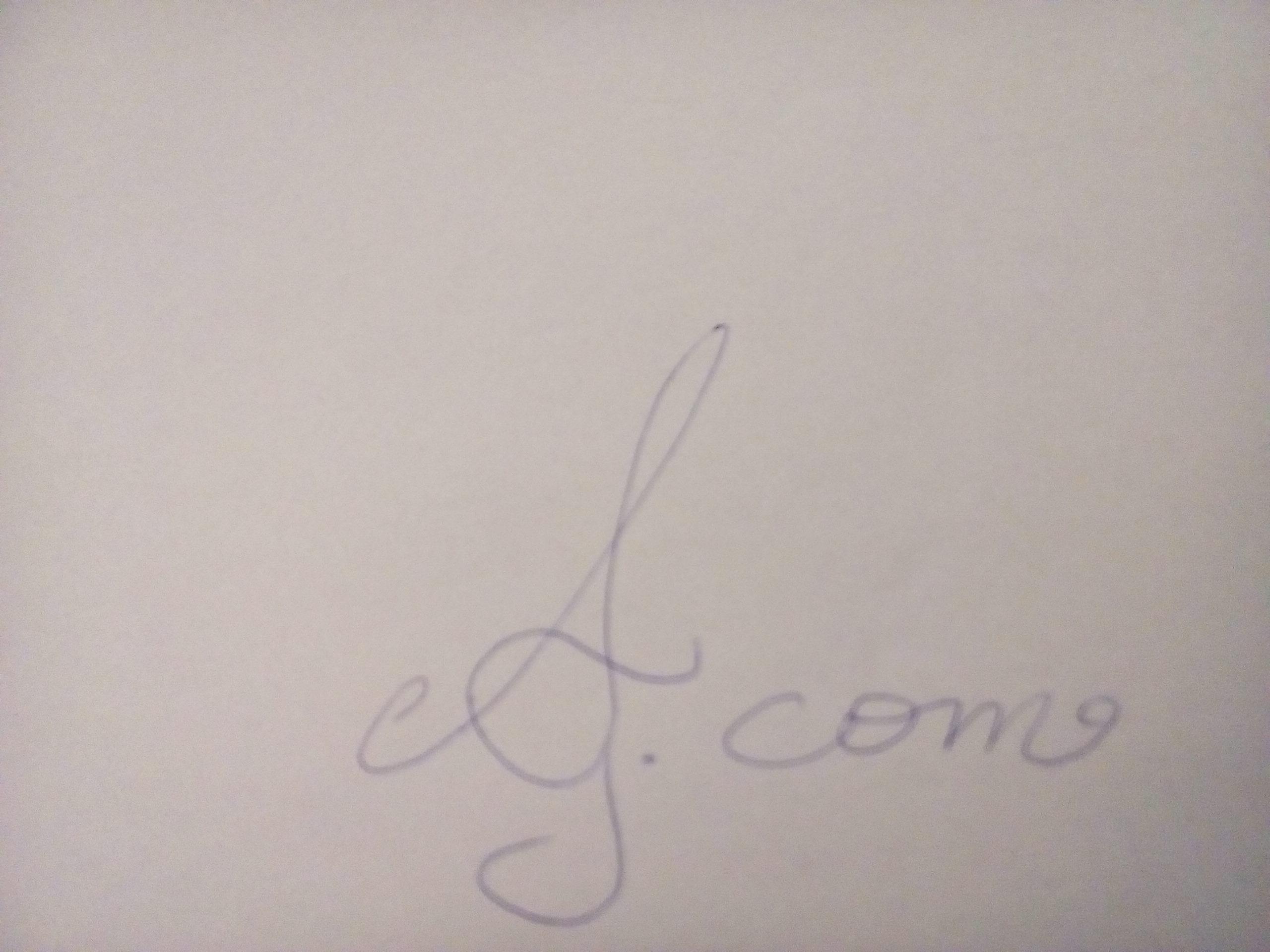 ANASTASIA GIANNOPOULOU Signature