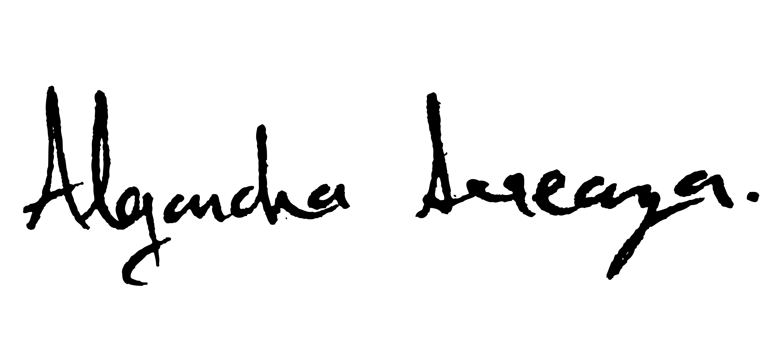 Alejandra Arreaza Signature
