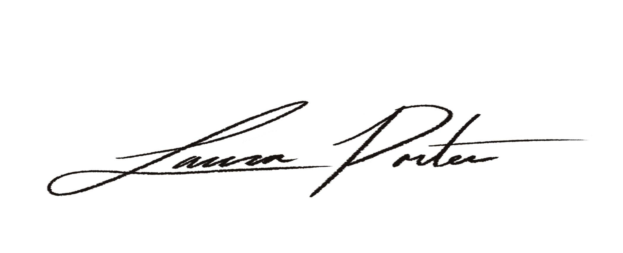 Laura Porter Signature