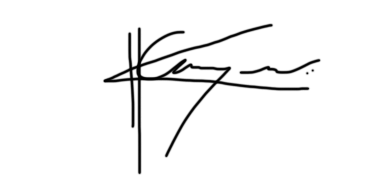 Ganga Kadakia Signature