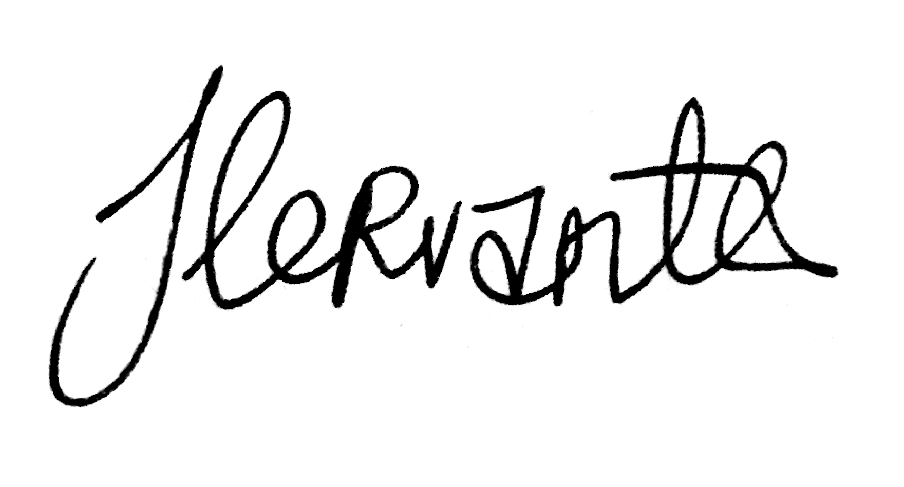 Jeffrey Cervantes Signature
