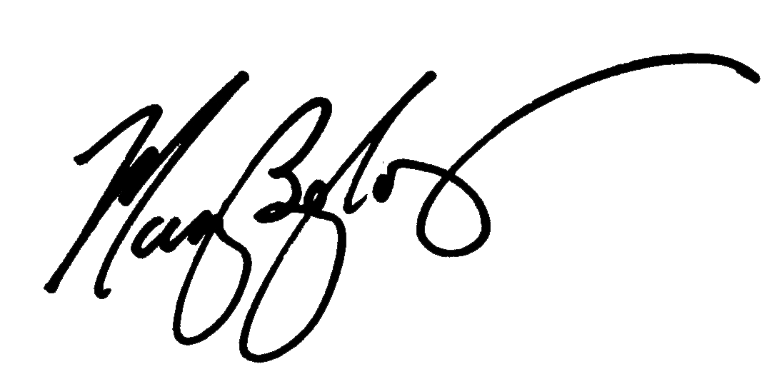 MAry Begley Signature