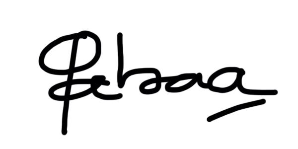 Gabriela Sanchez Signature