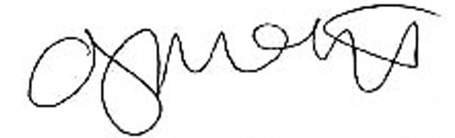 Anna J. McIntyre Signature