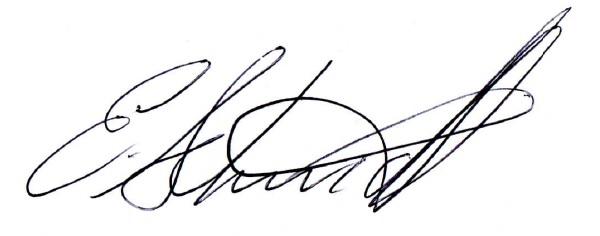 Erica Schmidt Signature