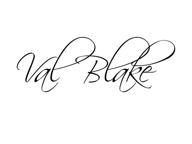 Val Blake Signature