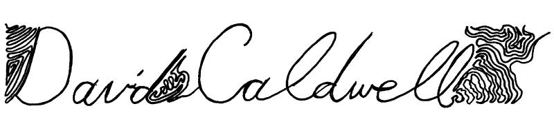 david caldwell Signature