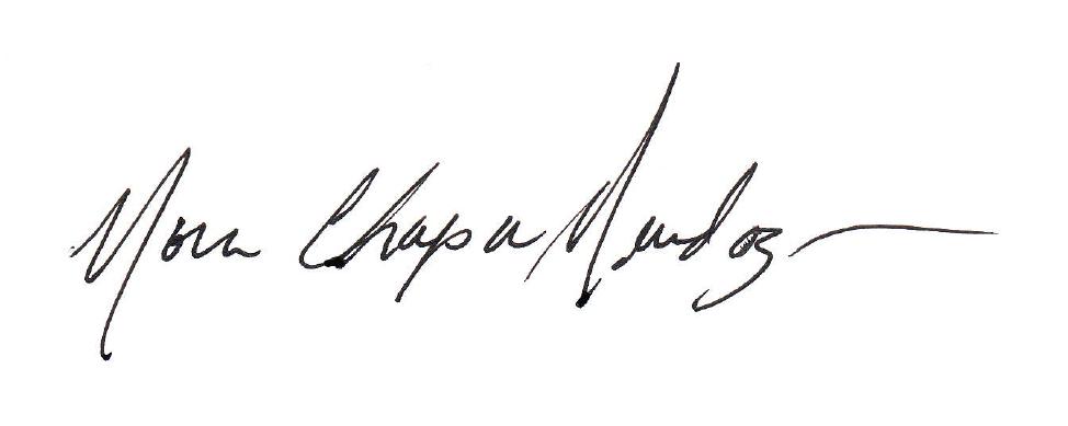 Nora mendoza Signature