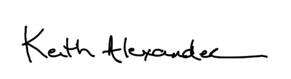 Keith Alexander Signature
