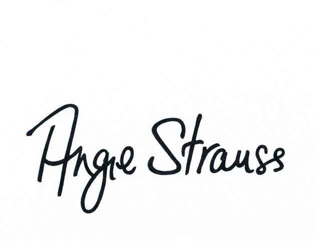 angie strauss Signature