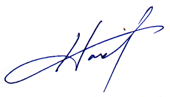 Howard Harris Signature