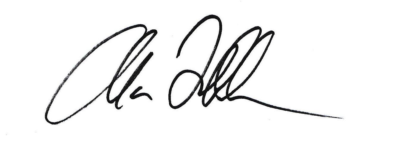Alan Frohlichstein Signature