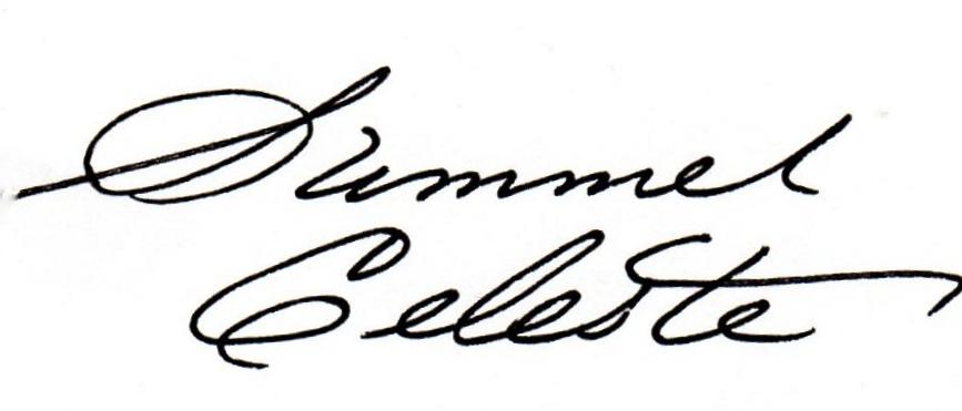 Summer Celeste Signature