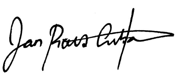 Jan Pious Grubat Signature