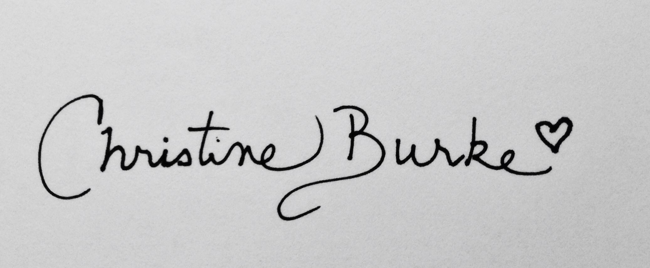 Christine Burke Signature