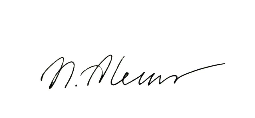 Natalia Aleksandrovskaya Signature