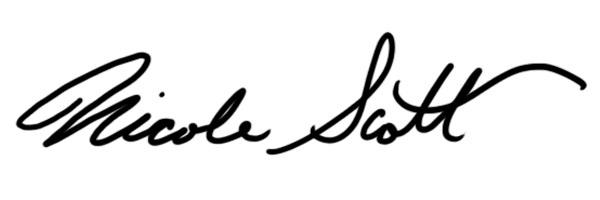 Nicole Scott Signature