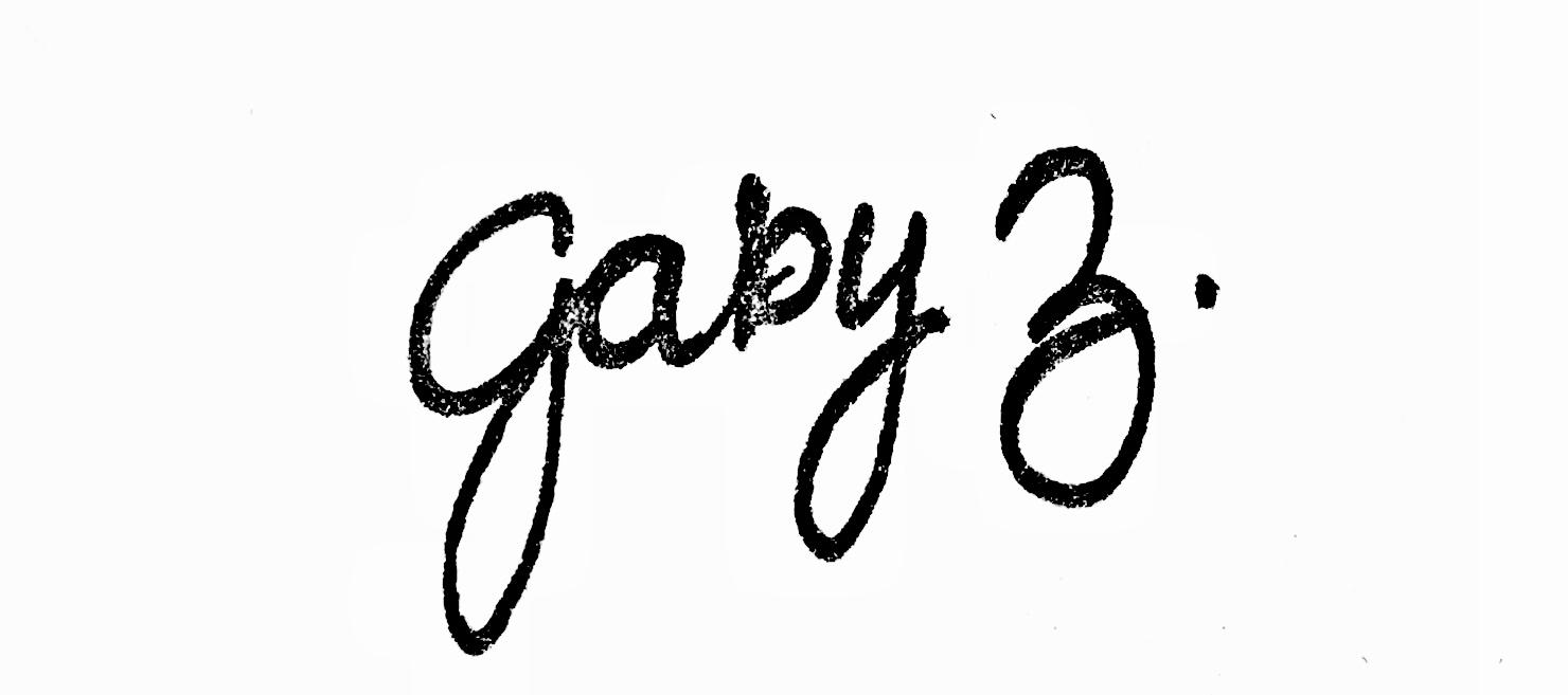 Gaby Zlocki Signature