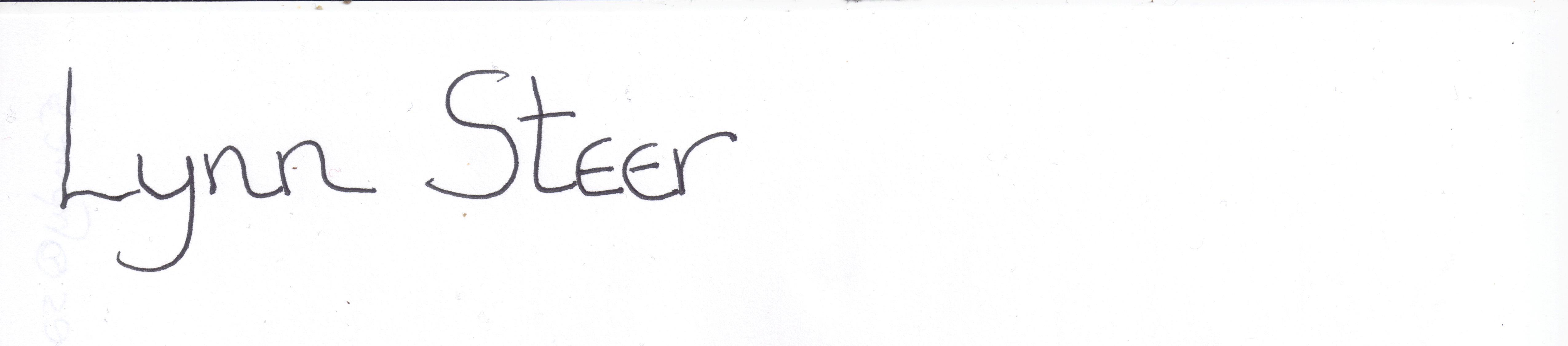 Lynn Steer Signature