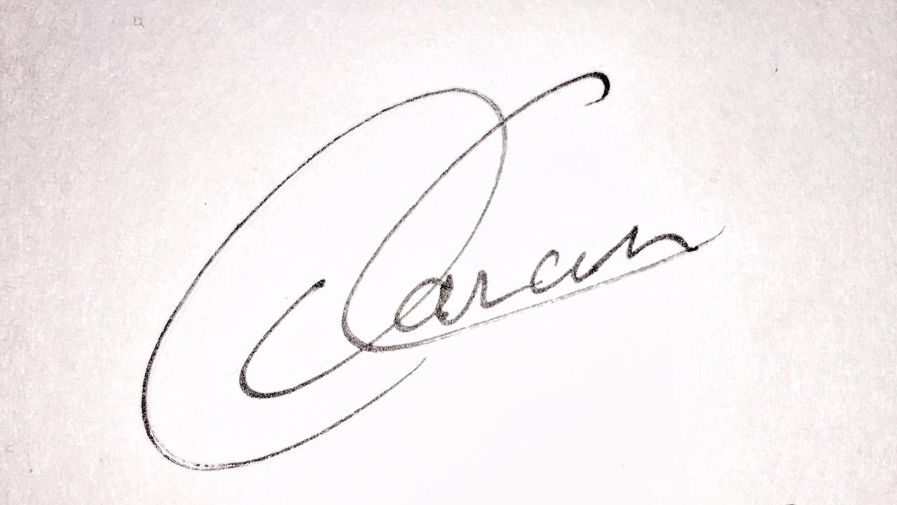 Daniel Canales Signature