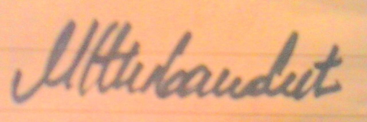 Marijana živanovic Signature